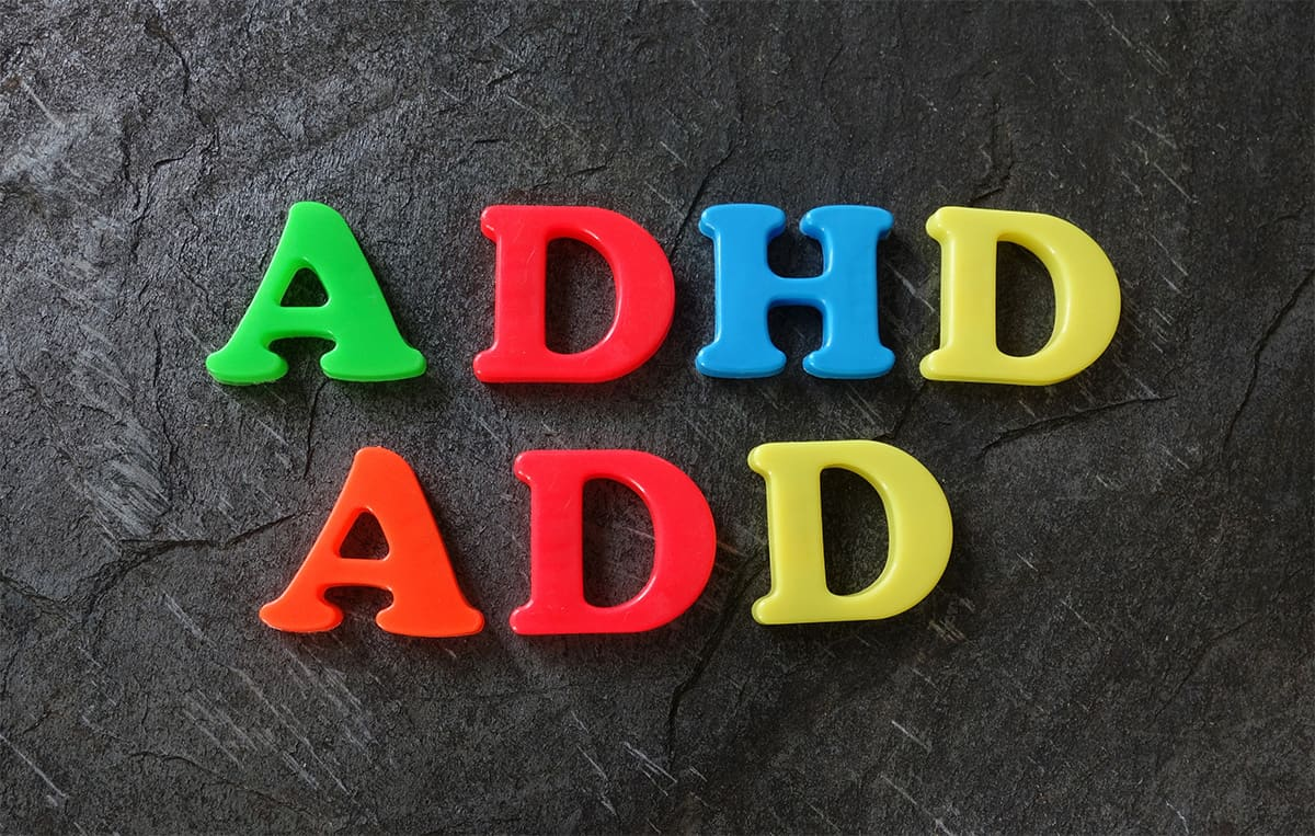 Differences between ADD and ADHD